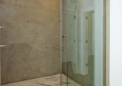 Concrete Shower 1